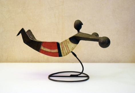 Weightlifter Sculpture made for Mexico 1968 Olympic Games / Manuel Felguerez