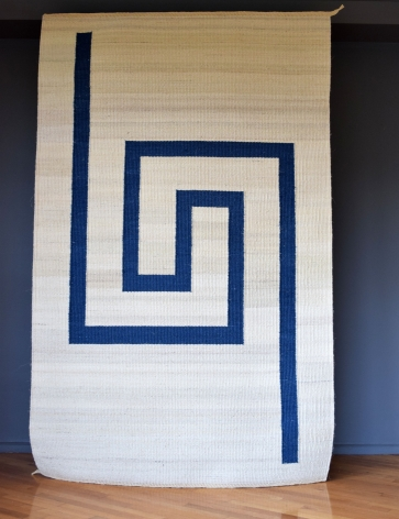 "Blue ""Agave Collection"" Rug / Trine Ellitsgaard"