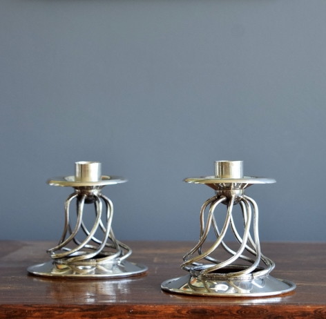 Pair of Candleholders / William Spratling