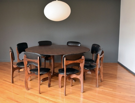 Dinning Set with 8 Chairs / Don Shoemaker