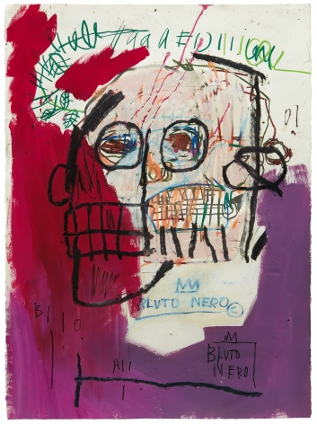 Jean-Michel Basquiat, Untitled (Bluto Nero), 1982