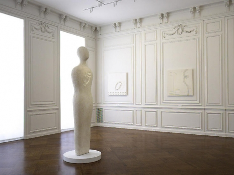 Installation view of Fausto Melotti at Acquavella Galleries from April 15 - June 12, 2008.