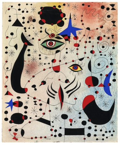 Joan Miró, Chiffres et constellations amoureux d'une femme (Ciphers and Constellations in Love with a Woman)