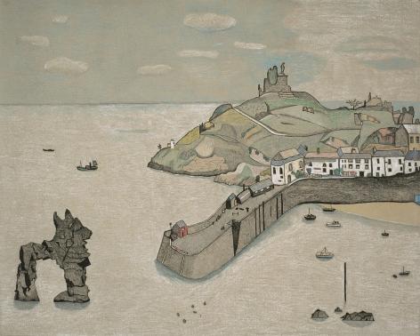 Lucian Freud, Tenby Harbour