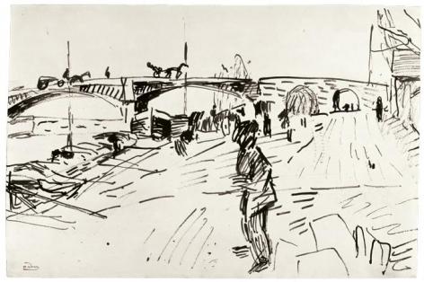André Derain, Le pont de Chatou, c. 1904