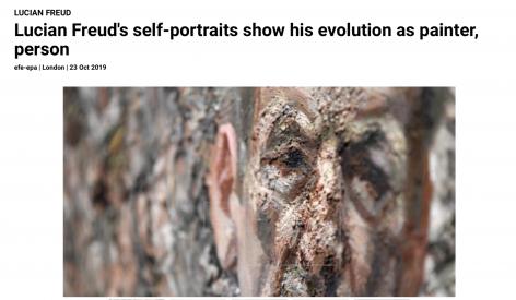 Lucian Freud's self-portraits show his evolution as painter, person