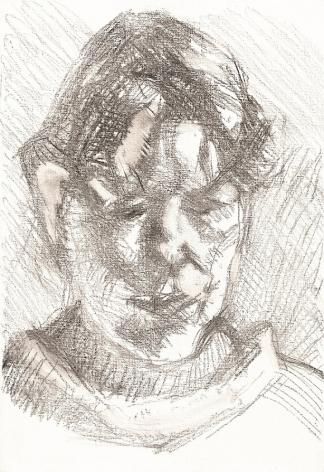 Lucian Freud, Dark Haired Neighbour