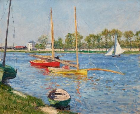 Gustave Caillebotte La Seine à Argenteuil,1882