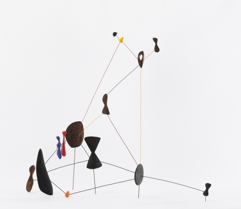Alexander Calder, Constellation, 1943, Wood, wire and paint