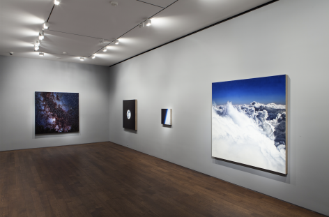 Installation view of Damian Loeb: Sol-d at Acquavella Galleries from February 28 - April 10, 2014.
