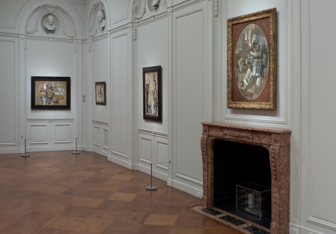 Installation view of Georges Braque: Pioneer of Modernism at Acquavella Galleries from October 11 - November 29, 2011.
