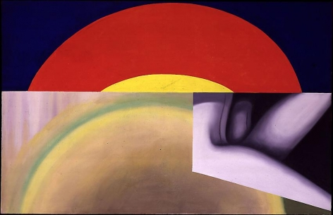 "James Rosenquist, ""Brighter than the Sun"""