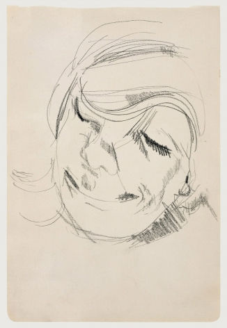 Lucian Freud, Head of a Woman Laughing