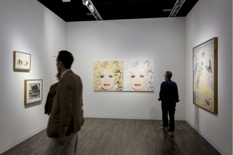 Art Basel in Miami Beach, 2016 - Acquavella Booth