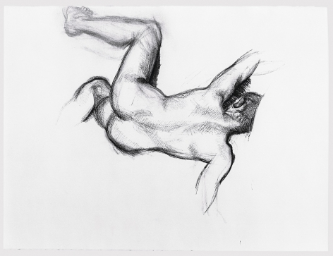 Lucian Freud, Naked Man on a Sofa