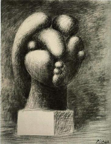 """Pablo Picasso, """"Sculpture of a Head: Marie-Thérèse,"""" 1932"""