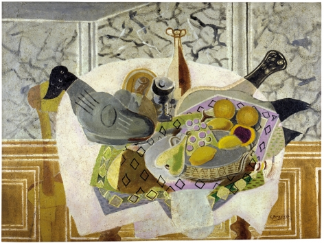 Georges Braque, The Mauve Tablecloth, 1936