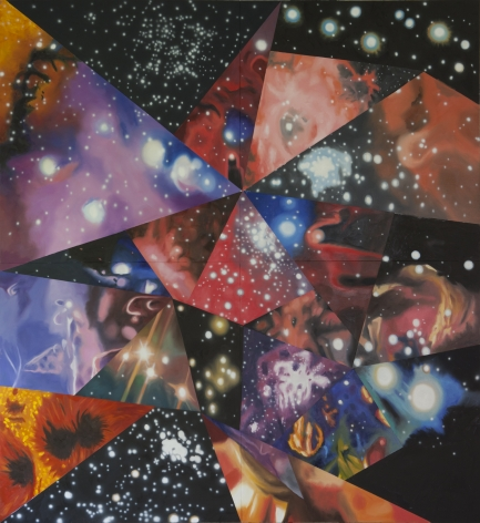 James Rosenquist, Multiverse You Are, I Am, 2012