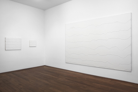 Installation view of Miquel Barceló at Acquavella Galleries from October 8 - November 21, 2013.