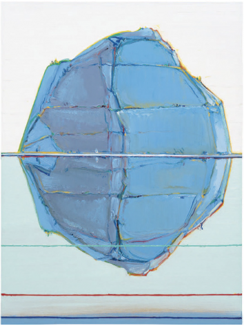 Wayne Thiebaud, Lake Mountain, 2019