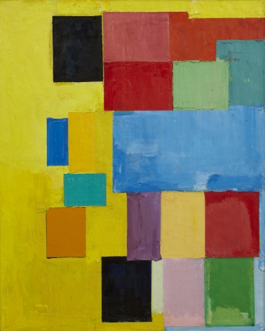 Hans Hoffman,Pastorale,1958, oil on canvas, 60 x 48 inches