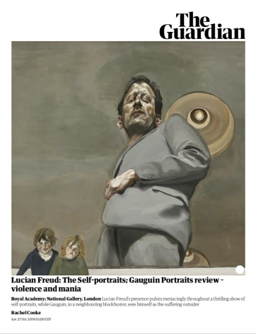 "Rachel Cooke, ""Lucian Freud: The Self-Portraits"""