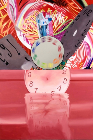 James Rosenquist, Time Stops but the Clock Disappears, 2008