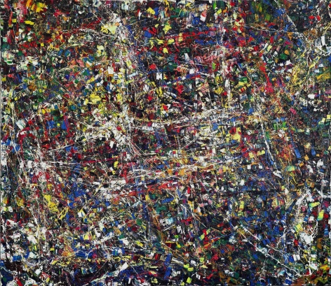 Jean Paul Riopelle, Quinze Chevaux Citroën (Fifteen Horsepower Citroën), 1952