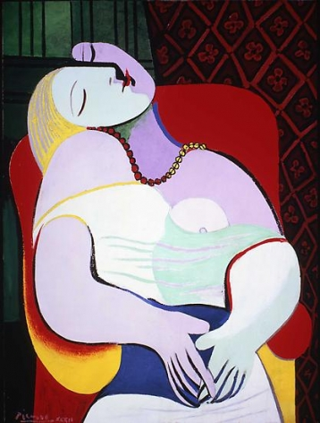 Pablo Picasso, The Dream, January 24, 1932