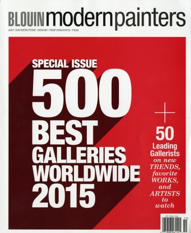 Modern Painters 500 Best Galleries Worldwide