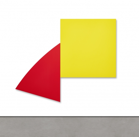 Ellsworth Kelly Untitled (Red and Yellow),1989