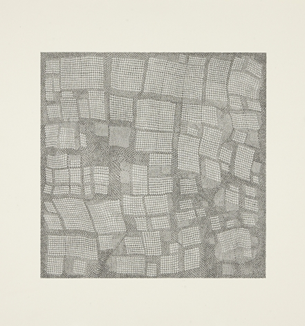 Jacob El Hanani, Dish Towel Square, 2003