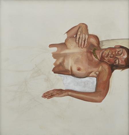Lucian Freud, Portrait, 1972