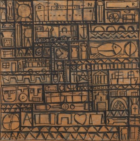 Joaquín Torres-García, Arte constructivo universal [Universal Constructive Art], 1942