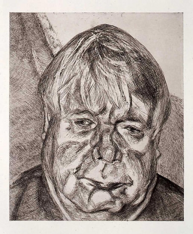 Lucian Freud, Donegal Man, 2007