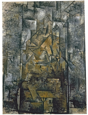 Georges Braque, Céret, Rooftops, 1911