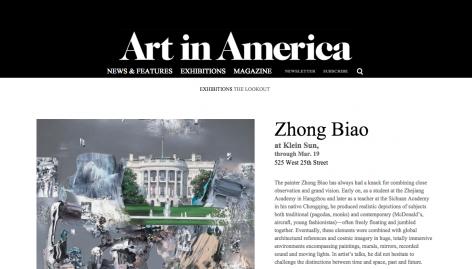 Art in America I Zhong Biao
