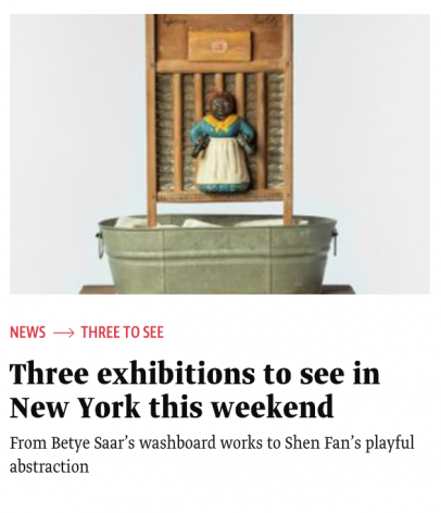 The Art Newspaper | Three exhibitions to see in New York this weekend