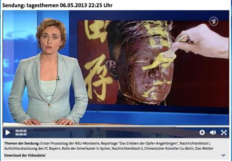 Taggeschau | Sendung: tagesthemen 06.05.2013