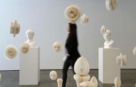 CNN Turk | Esnek heykeller şaşırtıyor