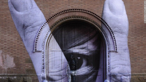 CNN Espanol | Liu Bolin, el artista 'invisible'