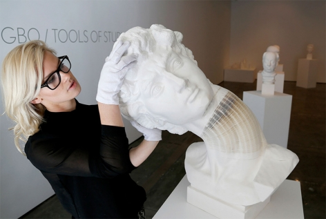 This is Colossal I New Flexible Sculptures by Li Hongbo