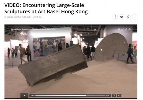Blouinartinfo | Encountering Large-Scale Sculptures at Art Basel Hong Kong