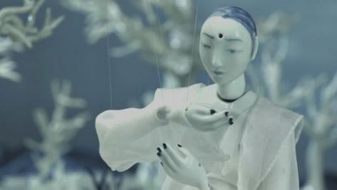 Yibada I porcelain animation piques Chinese art and film enthusiast
