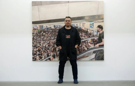 South China Morning Post | Hong Kong protest art: 'dystopia' of street violence captured in paintings taut with emotion