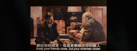 Flavorwire | Evocative Paintings of Frames from Modern Movie Classics