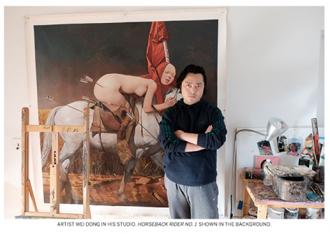 Sotheby's News I Exploring Crossroads and Beauty with Wei Dong
