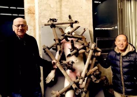 Yi Zhong | Museum Beelden aan Zee: Body and Soul Zhang Dali's retrospective