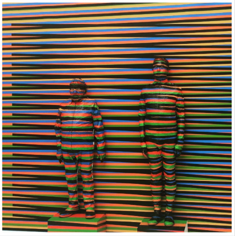 Creator's Project | Liu Bolin and Carlos Cruz-Diez