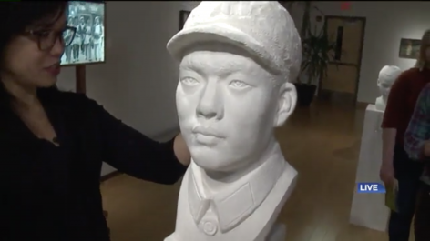 WNEP | Stretchable Sculptures: Chinese Paper Art Comes to Misericordia University